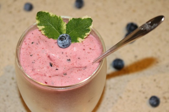 Berry & Mint Smoothy
