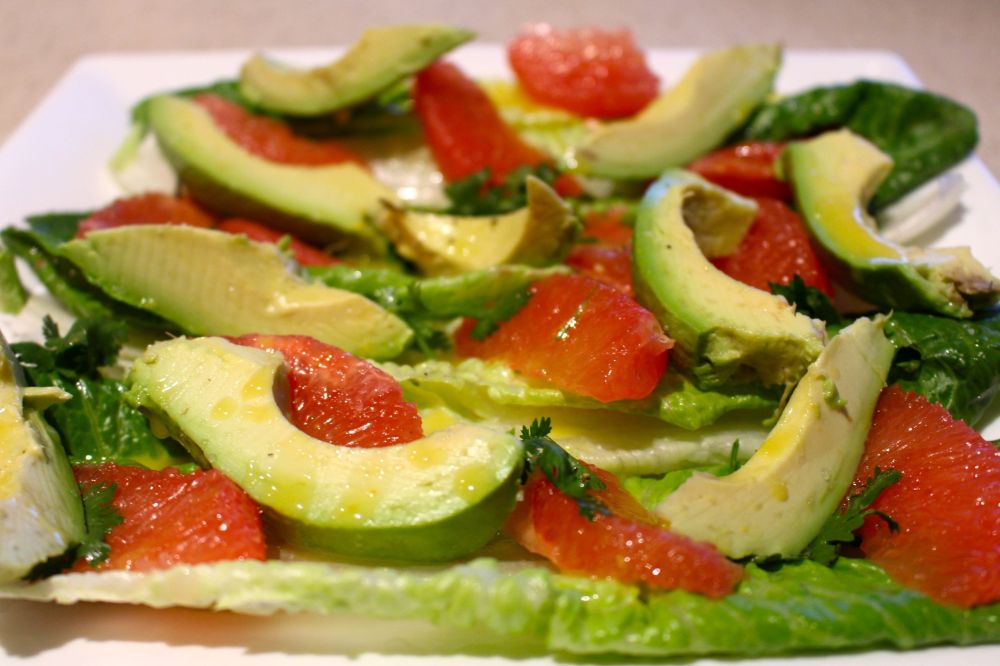 Grapefruit & Avocado Salad