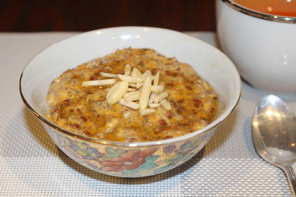 Pumpkin & Chia Seed Porridge